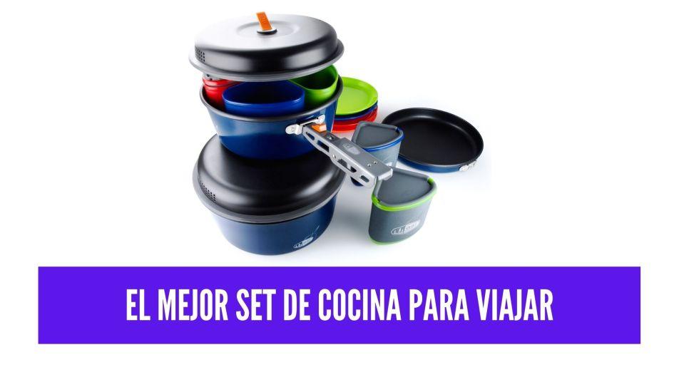set de cocina para viajar