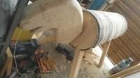 Grundkonstrukion vom Holzpferd