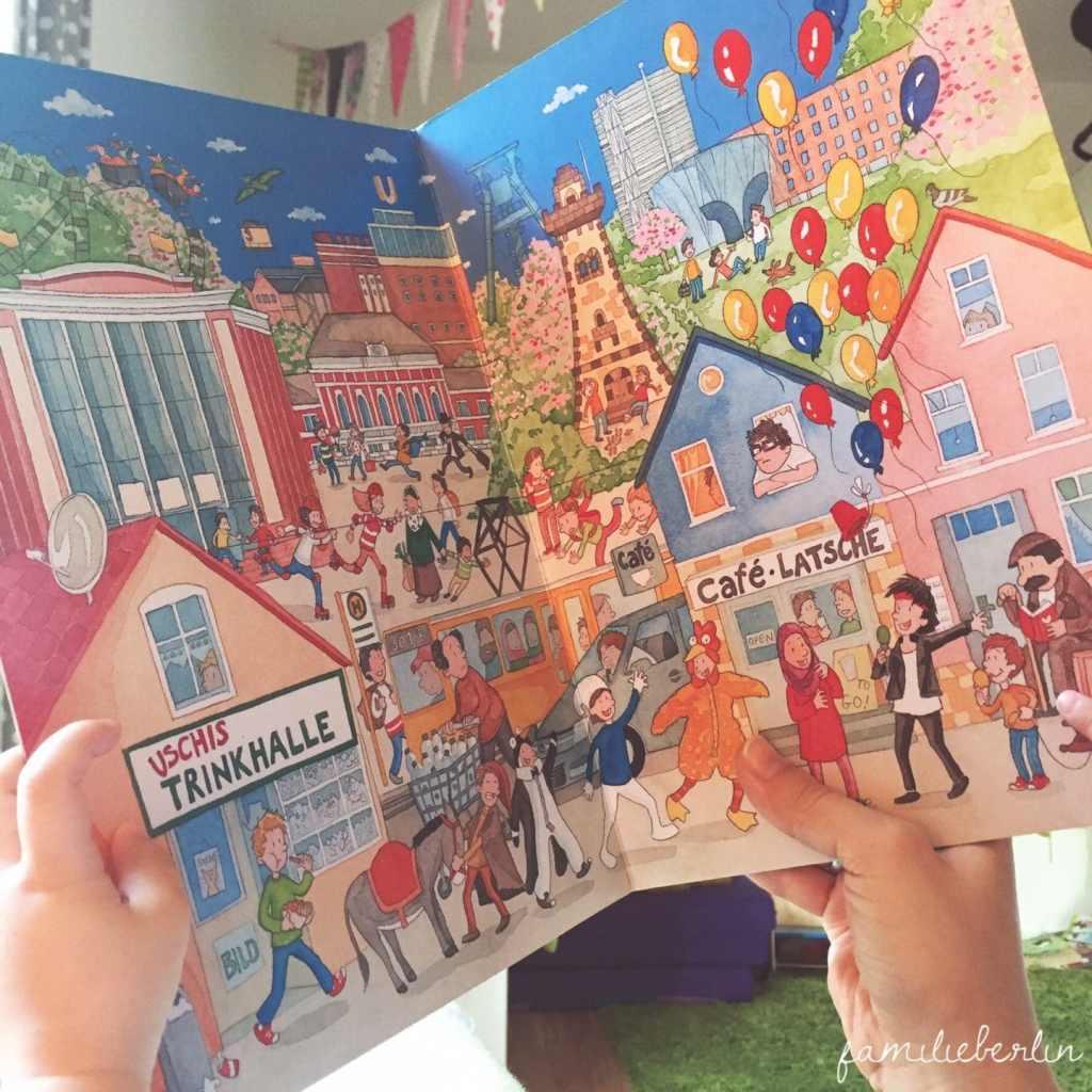 Wimmelbuch, Ruhrgebiet, Lesen, Kinderbuch