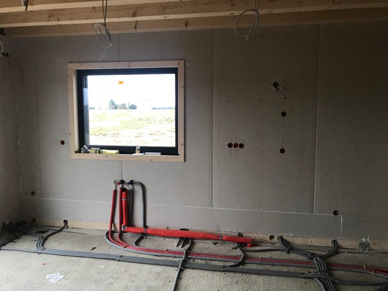 Installation für die Küchenzeile
