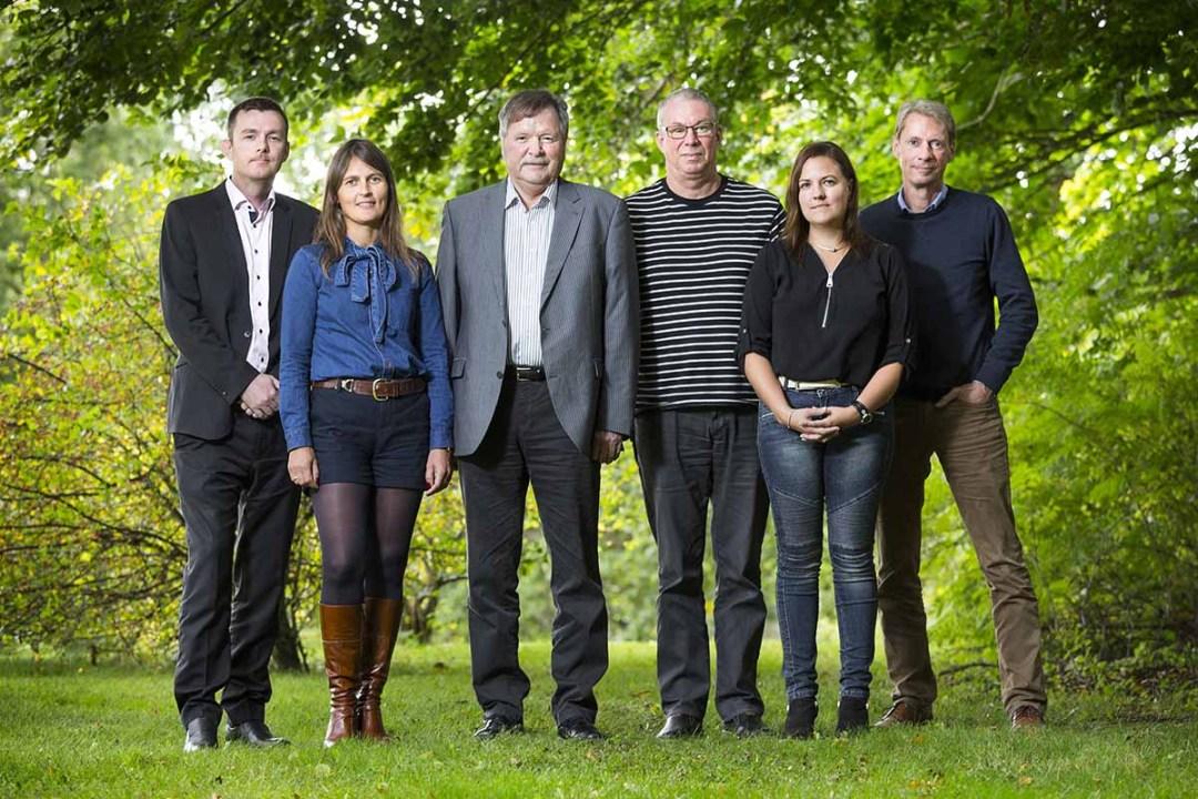 familie gruppefoto Århus