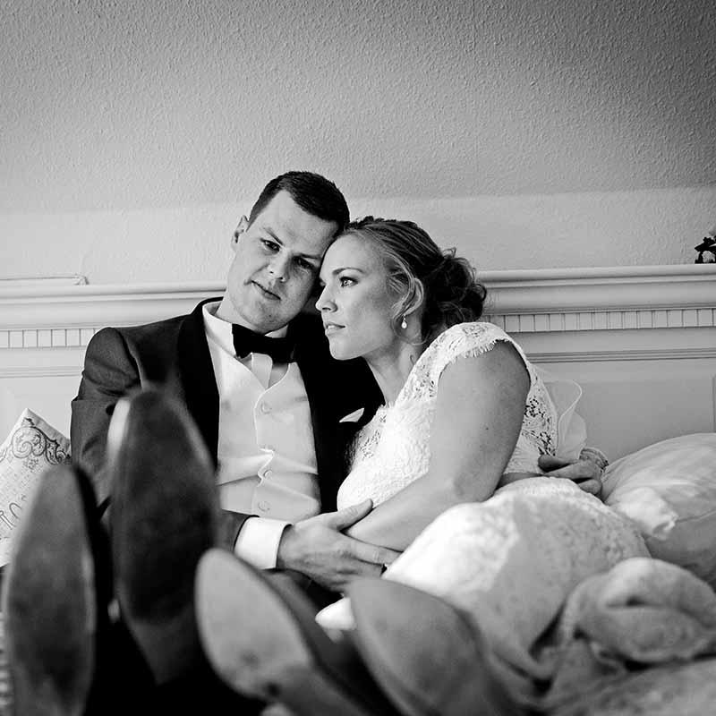Når jeg fotograferer et bryllup