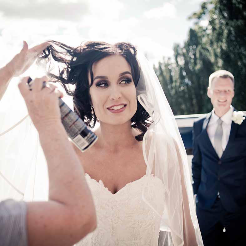 Som professionel bryllupsfotograf