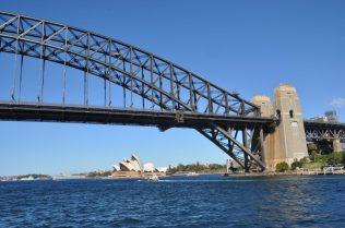 (C) Jule Reiselust: Sydney Harbor Bridge und Opernhaus