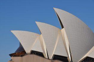 (C) Jule Reiselust: Dachsegel Oper Sydney, Westseite