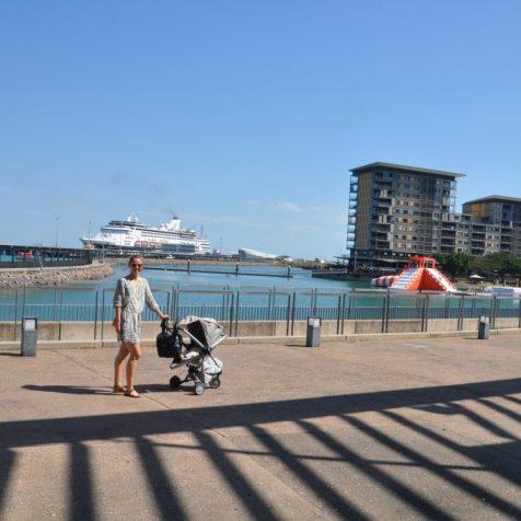 (C) Jule Reiselust: Spaziergang durch Darwin - hier: Waterfront