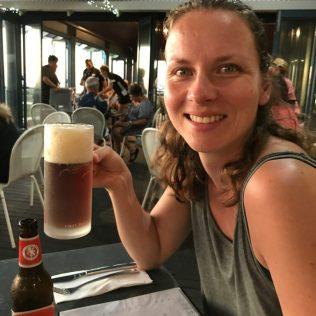 (C) Jule Reiselust: Mein erstes Bier nach Schwangerschaft und Stillen - ein westaustralisches Rogers. Lecker frisch!