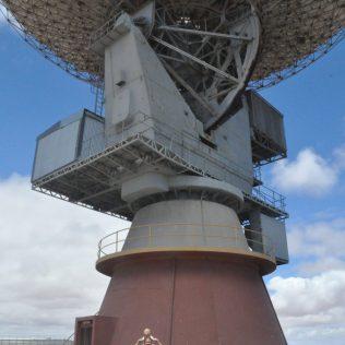 (C) Jule Reiselust: OTC - Dish in Carnavon - von hier aus wurden die Gemini- und Apollomissionen mit überwacht.