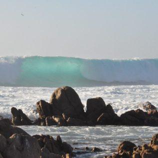 (C) Jule Reiselust: Welle vor der Küste von Yallingup.