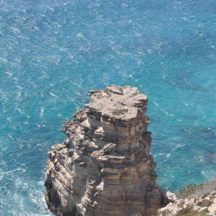 (C) Jule Reiselust: Island Rock im Küstenabschnitt des Kalbarri Nationalpark.