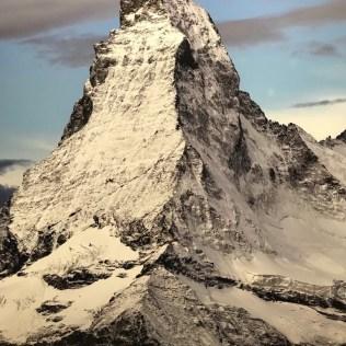 (C) Jule Reiselust: Fotographie des Matterhorn in der Ausstellung im Gasometer Oberhausen.