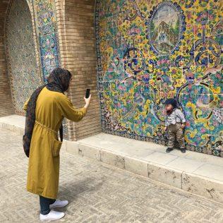 (C) Jule Reiselust: Die Iraner lieben Fotos und Selfies mit Noah.