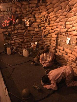 (C) Jule Reiselust: Nachbau einer Bunkeranlage.