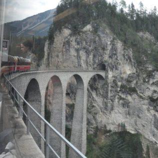 (C) Jule Reiselust: Landwasserviadukt auf der Albulalinie.