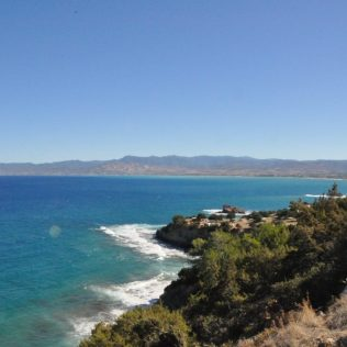 (C) Jule Reiselust: Der Aphrodite Rundwanderweg bietet fantastische Ausblicke auf die schroffe Küste im Norden Zyperns.
