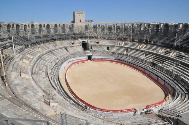 (C) Jule Reiselust: Amphiteater in Arles.