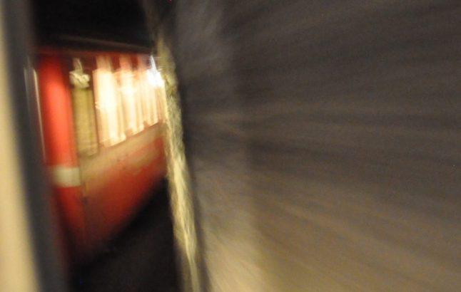 (C) Jule Reiselust: Rhätische Bahn im Tunnel.