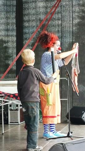 Clown Natscha in Action