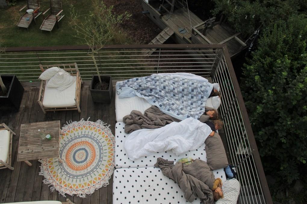 Draußenschlafen