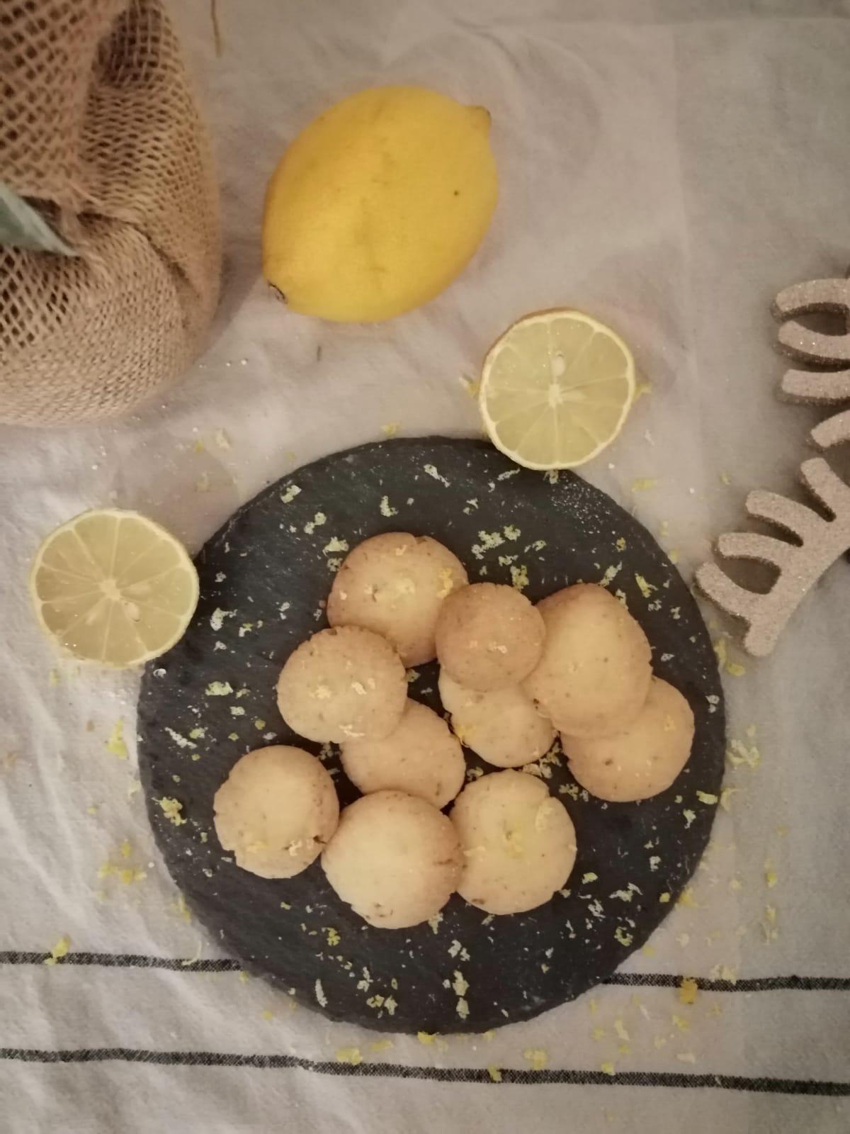 weihnachtliche Zitronentaler