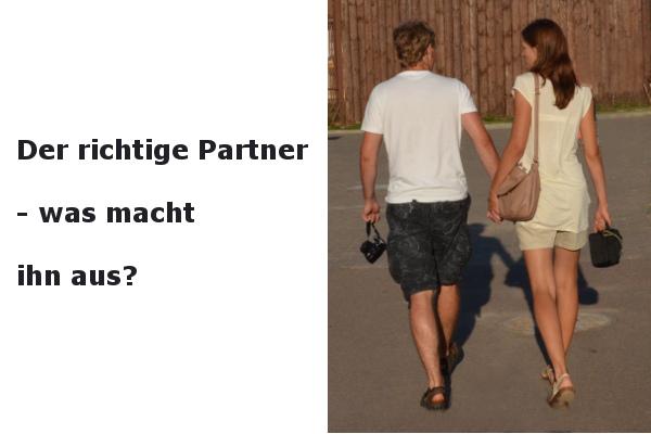 der richtige partner