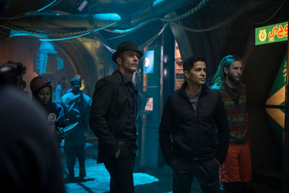 """THE EXPANSE -- """"Remember the Cant"""" Episode 103 -- Pictured: (l-r) -- (Photo by: Rafy/Syfy)"""