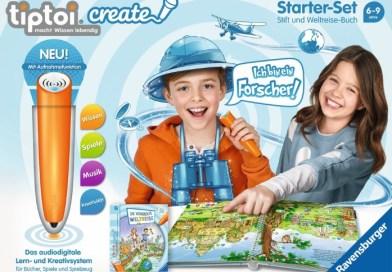 Test: Tiptoi Create Starterset und Weltreisebuch