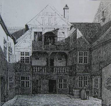 Bekkers gård i Borgergade.