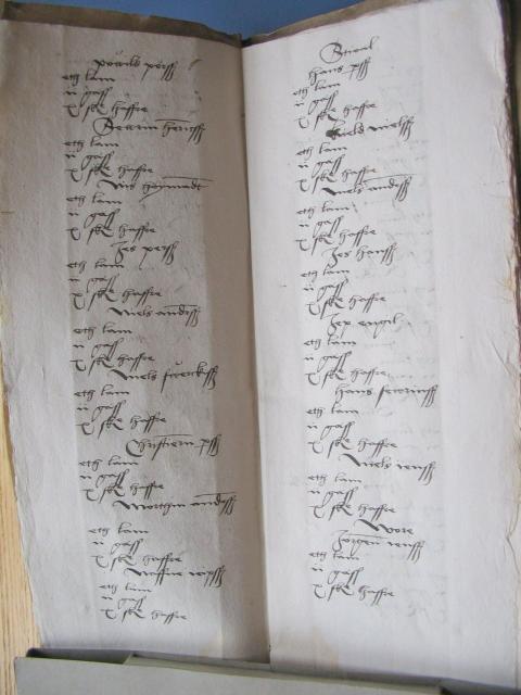 Jordebogen for hovedgården Kærstrup fra 1537
