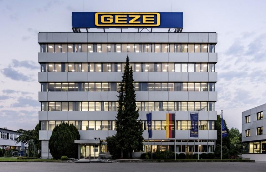 GEZE Gebäude