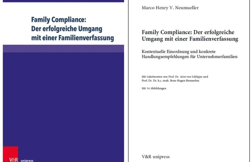 Buchcover Dr. Marco Henry Neumueller