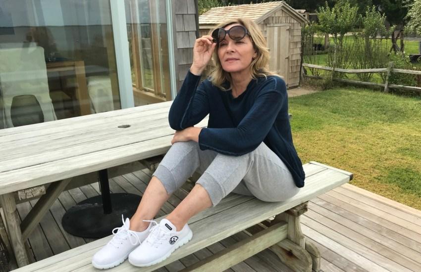 Diane Kruger und Kim Cattrall sind verrückt nach dem nachhaltigen Merino Sneaker von Giesswein