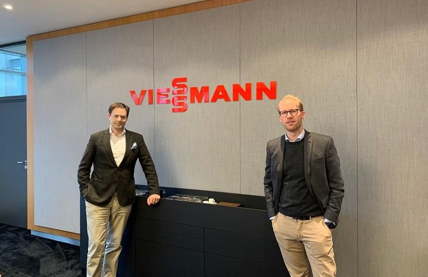 Dr. Marco Henry Neumueller mit Maximilian Viessmann