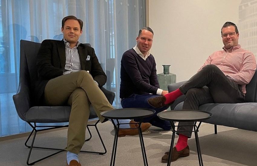 Dr. Marco Henry Neumueller mit Jörn Herseth und Matthias Till