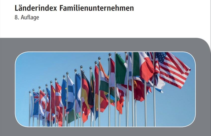 Tiefstand im Standortranking: Deutschland rutscht im Länderindex Familienunternehmen um drei Plätze ab. USA, Großbritannien und Niederlande an der Spitze
