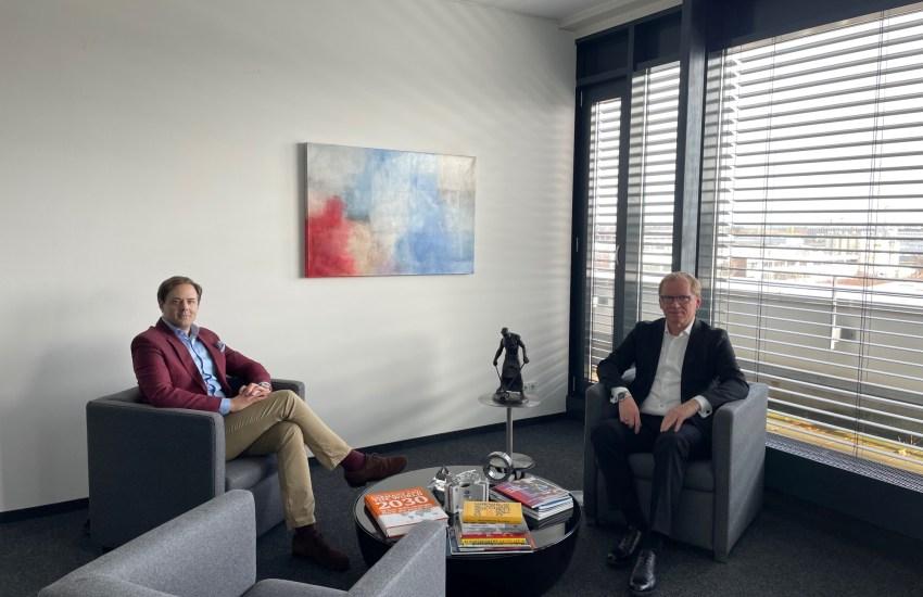 Dr. Marco Henry Neumueller und Prof. Dr. Rainer Lindner (Heine + Beisswenger)
