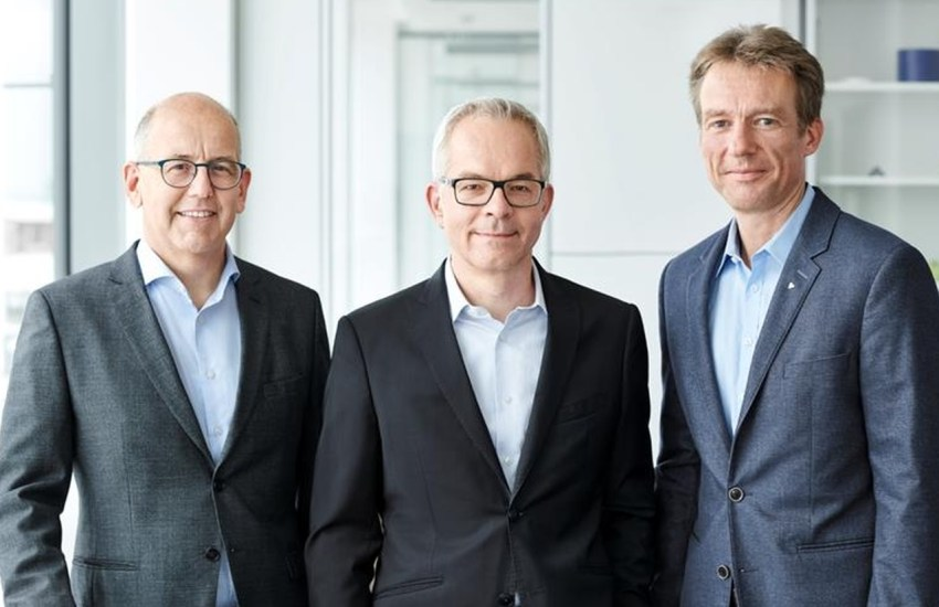 Klaus Ensinger, Dr. Roland Reber und Dr. Oliver Frey (Ensinger)