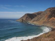 Pazifik am Highway 1, Kalifornien