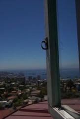 Blick aus dem Haus Pablo Nerudas, Valparaiso