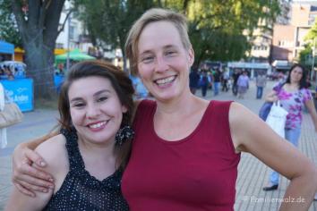 Mit Kati Neumann auf einem Konzert in Osorno