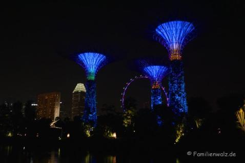 Super Trees im Garden of the Bay