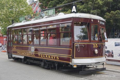 Cable Car in Christchurch