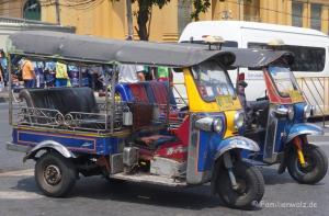Und plötzlich Thailand - Tuktuk