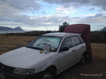 Unser Microvan - drei Wochen unser Zuhause