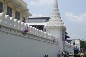 Palastmauer des Königspalastes