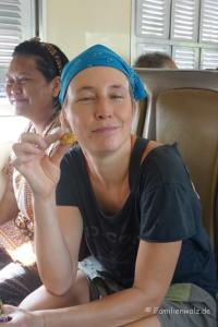 Elefanten, Strand und wilde Affen - Hua Hin - Geschenk im Zug:Scharf-saure Trockenfrüchte