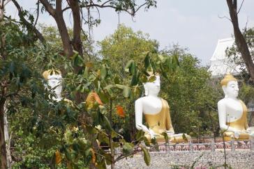 Tempel am Elefantendorf in Hua Hin