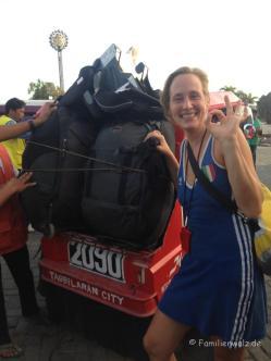 Auf dem Weg nach Panglao - mit dem Tuktuk