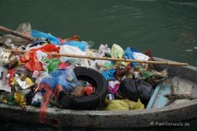 eingesammelter Müll
