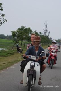 Mit dem Roller nach Hoi An